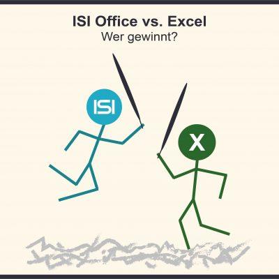 ISI Office vs. Excel - Der Kampf der Zeiterfassungssysteme